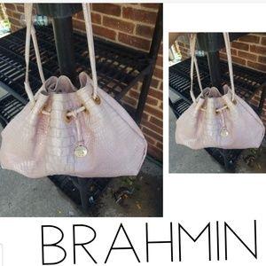 Vintage Brahmin bucket bag